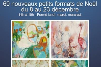Expo de Noël - 60 petits formats à Saint Lizier