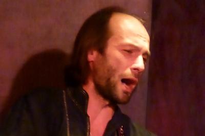Andreï Kleimenov musiques, chansons et claquettes tziganes-russes à Grenoble