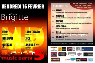 Music Party 5 à Saint Affrique
