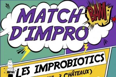 Match d'Impro à Saint Paul Trois Chateaux