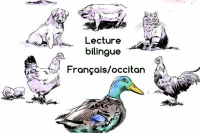 Lecture bilingue français/occitan de Gascogne