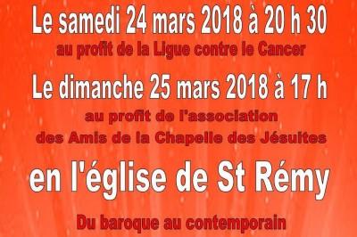 Concerts 2018 à Saint Remy