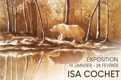 Exposition des œuvres d'Isa Cochet à Rennes