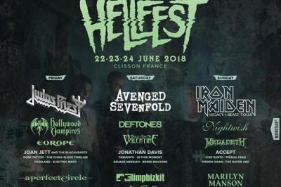 Iron Maiden / Megadeth / Marilyn Manson à Clisson