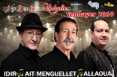 1 2 3 Kabylie à Paris 12ème