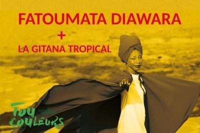 Festival Toucouleurs - Concert Fatoumata Diawara à Toulouse