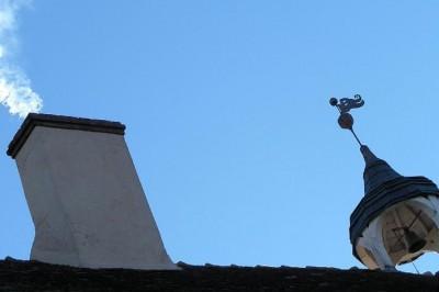 Château du Puy reçoit  toute l'école Notre Dame à Tercillat