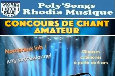 Concours De Chant Amateur à Le Peage de Roussillon