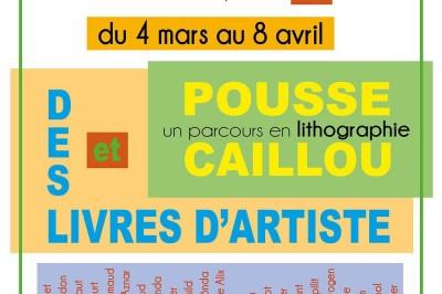 Livres d'artiste & Pousse Caillou à Narbonne