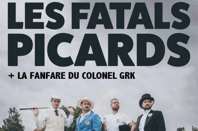 Les Fatals Picards et la Fanfare du Colonel GRK à Loches