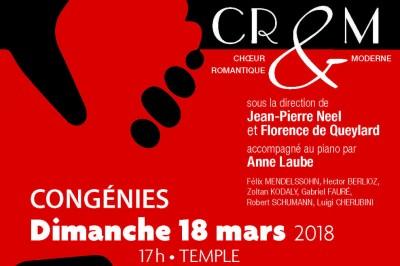 Concert à Congénies au profit des réfugiés et de la Cimade à Congenies