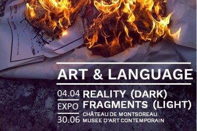 Art & Language : Reality (Dark) Fragments (Light) à Montsoreau