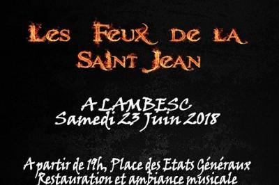 Feux de la Saint Jean à Lambesc