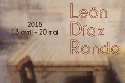Leon Diaz Ronda à la galerie AMJ à Narbonne