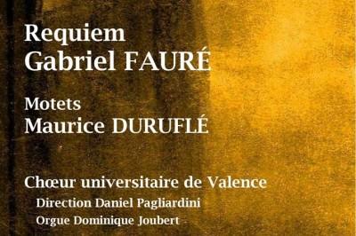 Musique française pour choeur et orgue à Saint Donat sur l'Herbasse