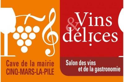 Salon des Vins et Délices à Cinq Mars la Pile