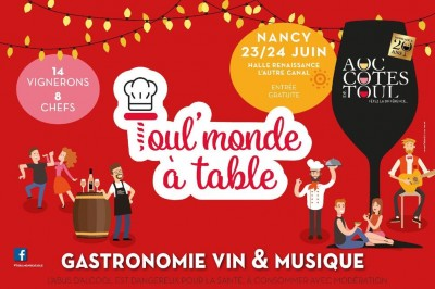 Toul'Monde à Table 2018