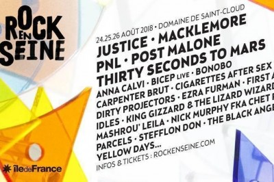 Justice, Macklemore, Post Malone à Saint Cloud