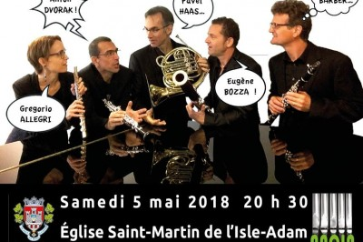 Concert Quintette à vents
