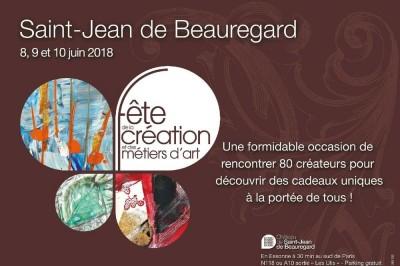 Fête de la Création et des Métiers d'Art à Saint Jean de Beauregard