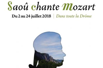 Festival Saoû chante Mozart 2018