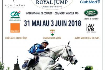 Concours équestre international Royal Jump - 2ème édition à Chaumont en Vexin