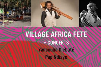 Village africa fete  plus concerts à Marseille