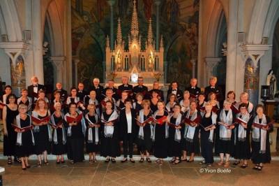 Concert du Choeur des 4 Vents (Riantec - Morbihan) à La Rochelle