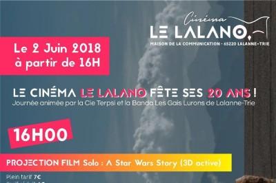 Les 20 du cinéma le Lalano 2018
