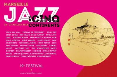 Marseille Jazz des cinq continents 2018