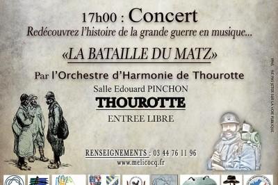 La Bataille du Matz à Thourotte