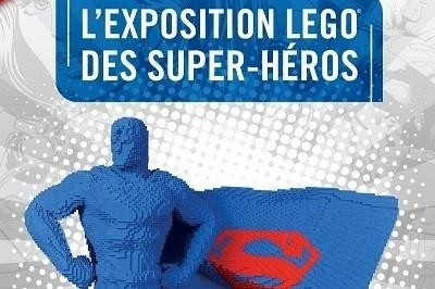 The Art Of The Brick - L'exposition Lego Des Supers Heros à Paris 19ème