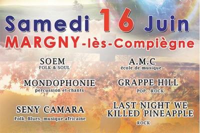 Concert à Margny-lès-Compiègne pour la Fête du Jumelage à Margny les Compiegne