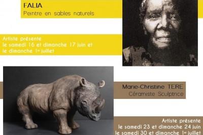Exposition Marie-christine Tere Et Falia à Montbazon
