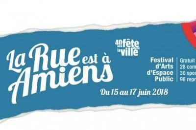 La rue est à Amiens, Fête dans la ville Amiens 2018