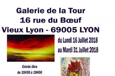 Expo collective à Lyon
