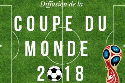 Diffusion de la Coupe du Monde 2018 à Roubaix