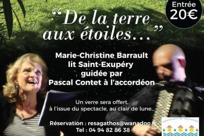 De la Terre aux Etoiles - Marie-Christine Barrault lit Saint-Exupéry à Agay