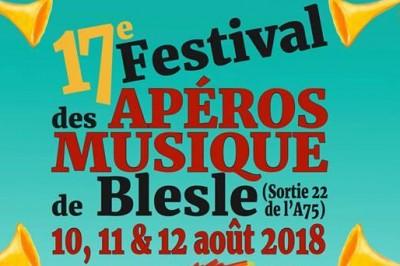 Festival des Apéros Musique de Blesle 2018
