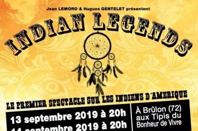 Indian Legends à Brulon