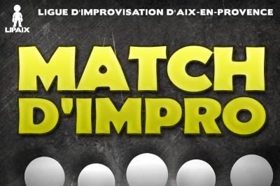Match d'improvisation - Aix en Provence vs Nantes