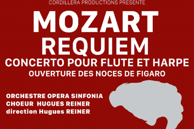 Mozart Requiem, Concerto Pour Flûte Et Harpe,  Ouverture Des Noces De Figaro à Paris 8ème