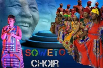 Concert Soweto Choir pour le centenaire de Nelson Mandela à Voreppe