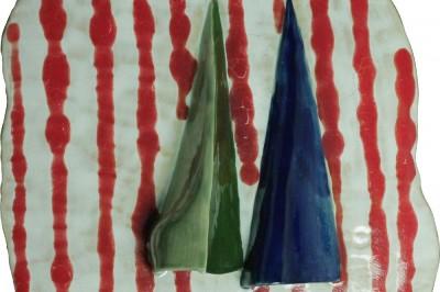 Sculptures de nez en céramique à Vallauris