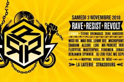 Rave | Resist | Revolt à Strasbourg