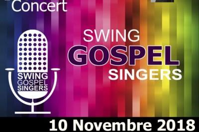 Concert Swing Gospel Singers à Ballan Mire