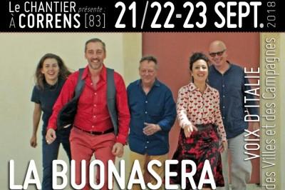 La Buonasera à Correns