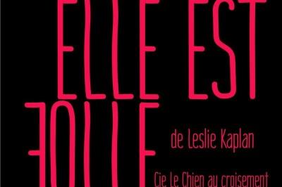Louise Elle Est Folle De Leslie Kaplan à Nimes