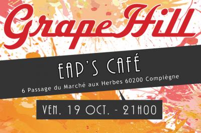 Concert au EAP's Café à Compiegne