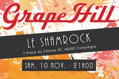 Concert au Shamrock Café à Compiegne